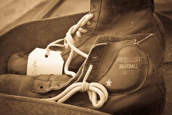 Camera Club (Peter Stoffberg) - 900 Old footy boots 1