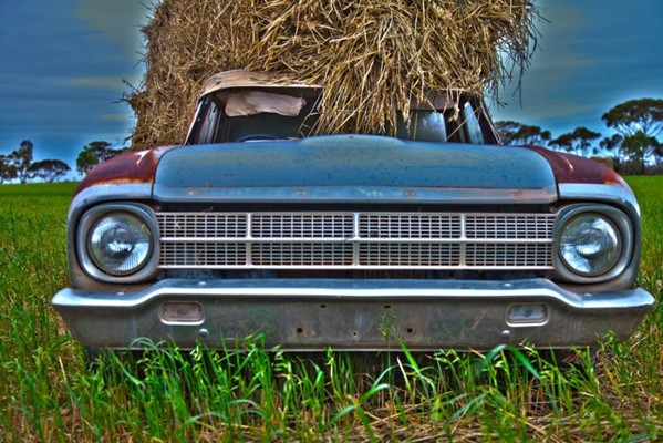 Camera Club (Peter Stoffberg) - 900 Old ute HDR